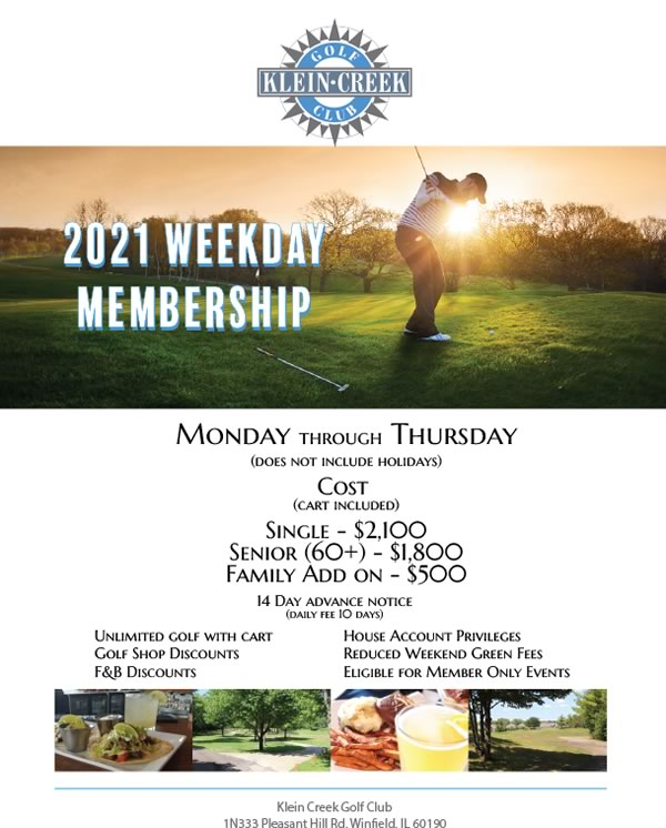 2021 KC Weekday Membership